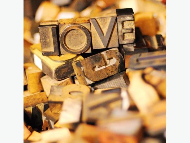 More antique wood letterpress printing blocks have arrived!