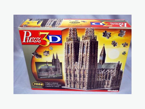 Cologne Cathedral - Wrebbit 3D  Jigsaw Puzzle