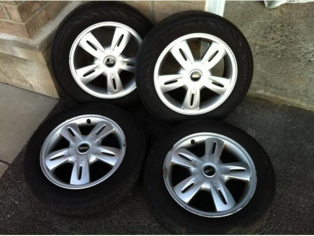 Mini Cooper 4 All Season Tires & Rims