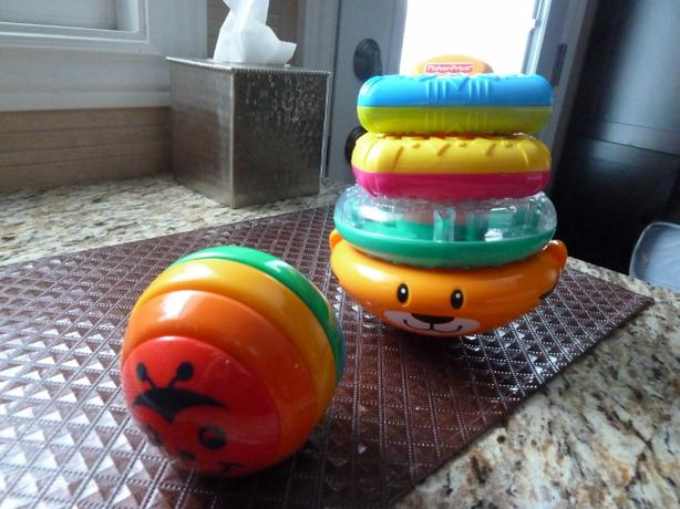 2 Baby toys Fisher Price and Gymboree
