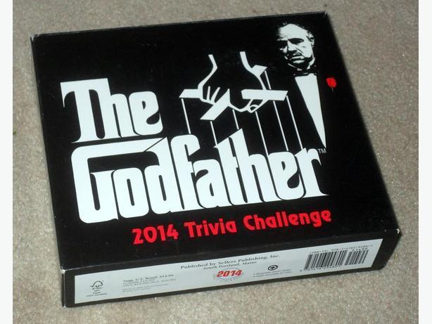 'The Godfather' Trivia Challenge Daily Calendar Cards