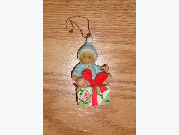 Brand New Baby's First Christmas Ornament - $2