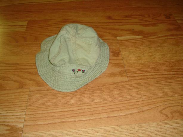 Embroidered Toddler Hat Wide Brim - $1