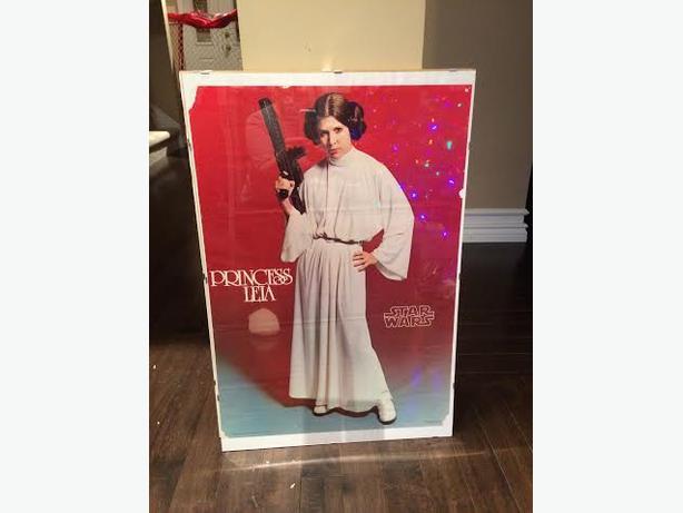 Star Wars set of 3 framed posters