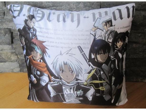 D. Gray-man ~ Throw Pillow