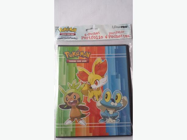 Pokemon collectors album 4 pages