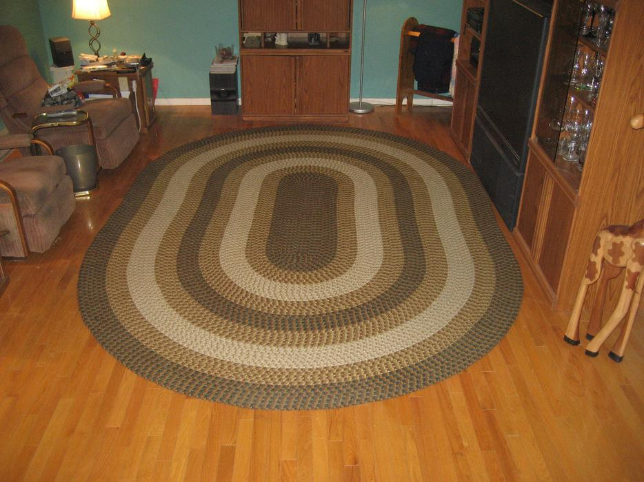 Reduced Price Large Braided Area Rug Outside Ottawa