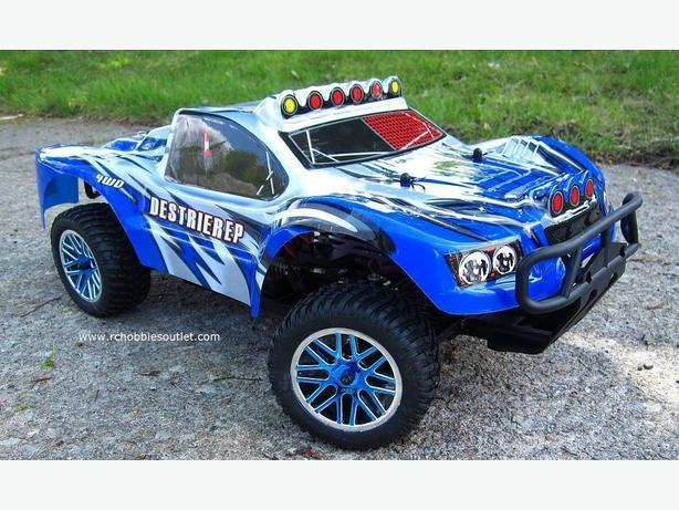 NEW 1/10 HSP Brushless Electric 4WD RC Short Course Truck 2.4GHz