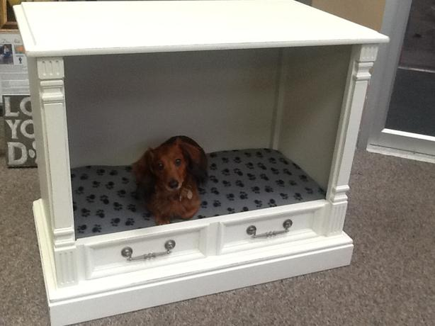 Large Dog Bed - Up-cycled Retro TV Cabinet Esquimalt & View Royal ...