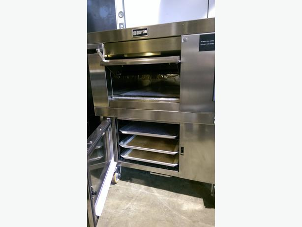 (DOYON) ARTISAN STONE DECK OVEN WITH PROOFER