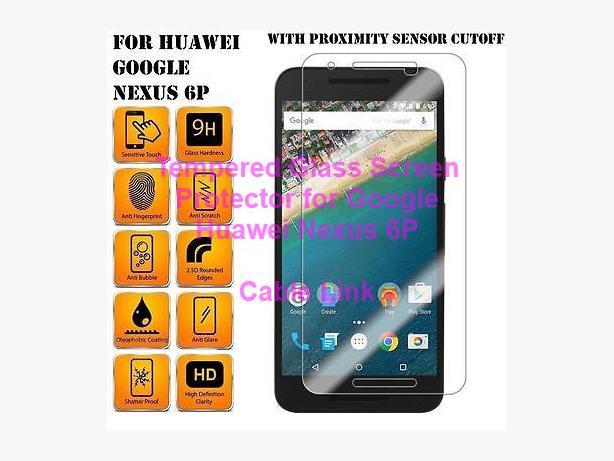 Premium Tempered Glass Screen Protector Huawei Google Nexus 6P