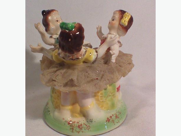 Ballet girls trinket box