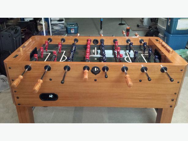Harvard Foosball (Soccer) Table
