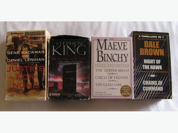 Assorted Audio Book Collections 4 Different Preowned Cassettes Choice