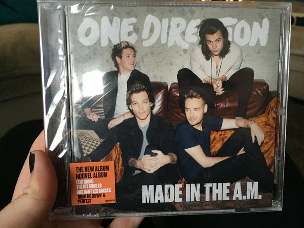 One Direction Made In The Am Album Cover 43008   WALLPLUS