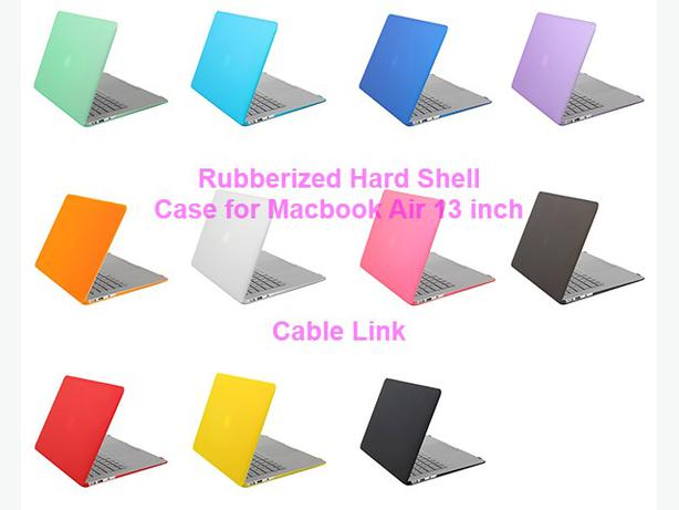 Matt Rubberized Hard Case for Macbook Air 13 inch