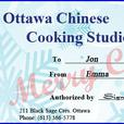 Gift Certificates for Hands-on Cooking Lessons