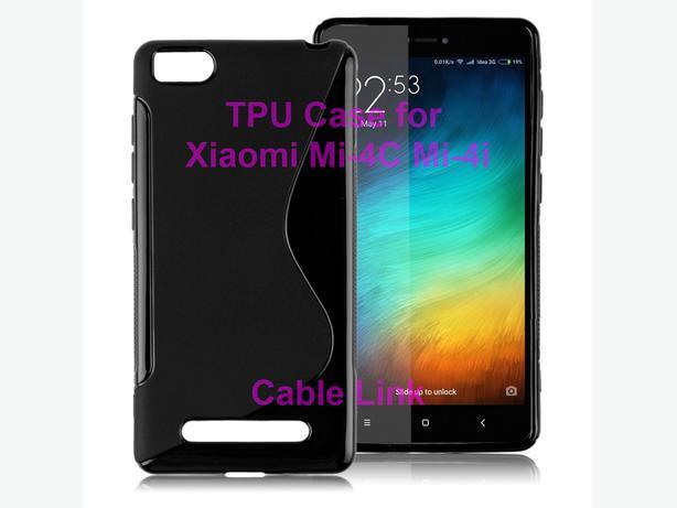 "S-Line TPU Case for 5.0"" Xiaomi Mi 4i Mi-4i Mi-4C"