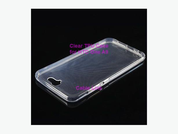 New Slim Soft TPU Silicone Clear Case for HTC One A9