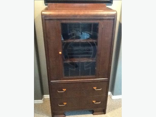 Price Reduced - Antique China Cabinet