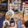 ANTIQUES COLLECTIBLES, GLASSWARE, CHINA, CRYSTAL, SILVER  JUNE 17/18th