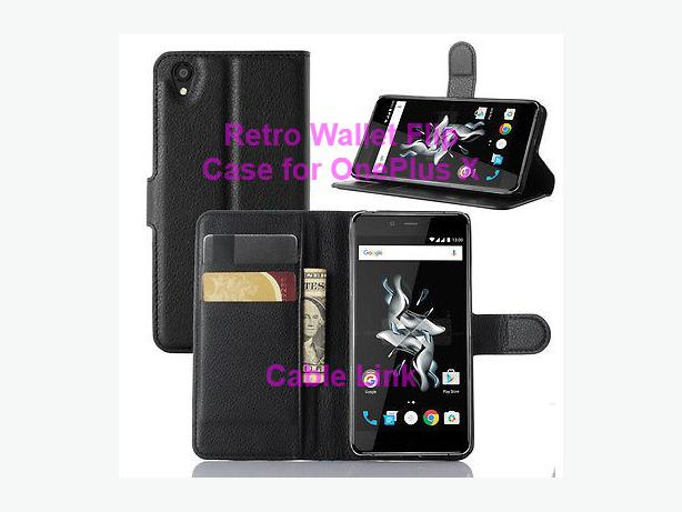Magnetic Wallet Flip Leather Case Flip Cover For Oneplus X