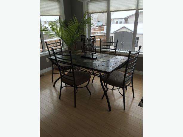 Wonderful Ashley Slate Dining Table