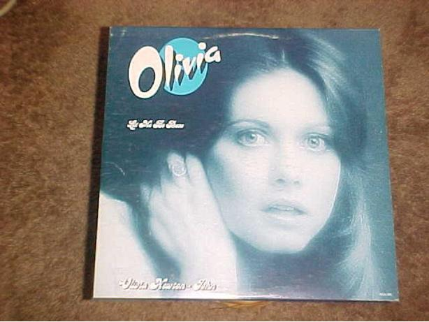 OLIVIA NEWTON JOHN LET ME BE THERE VINYL LP