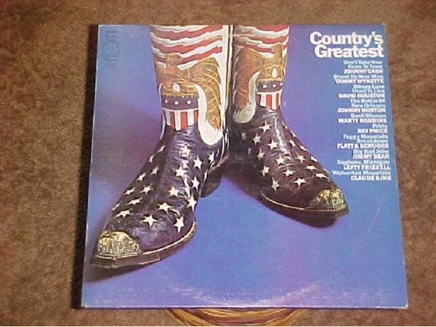 COUNTRYS GREATEST VINYL LP