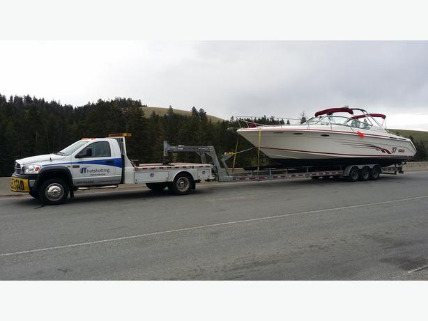 JT Hotshotting  Boat Hauling   Boat Transport  Sailboat Hauling