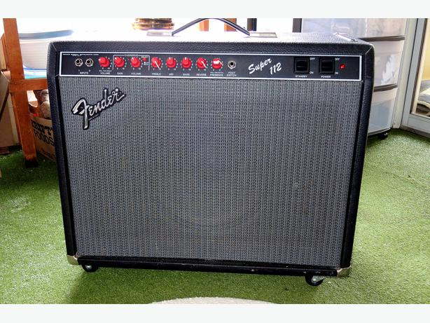 Fender Super 112 amp