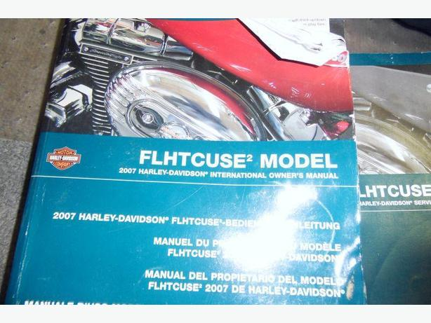 2007 Harley Davidson Owners Manual FLHTCUSE 2 Model
