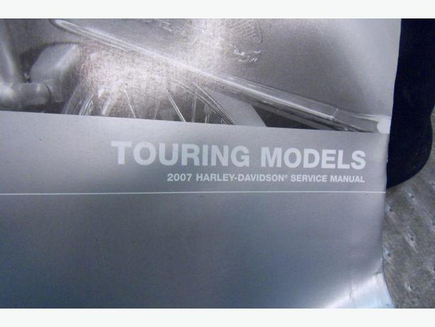 2007 Harley Davidson Touring Models Service Manual