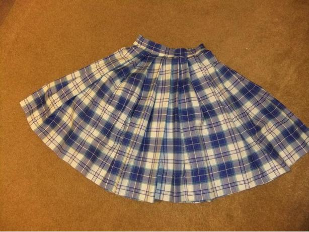 Highland Dancing Nationals Costume: skirt, vest, shawl