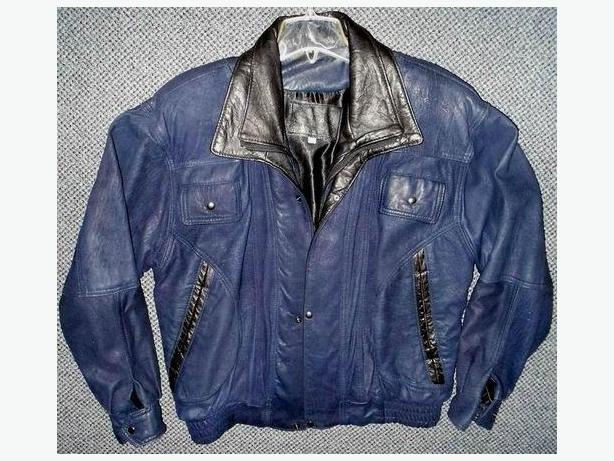 Mens leather jacket high quality
