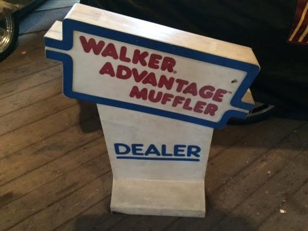 walker exhaust advertising