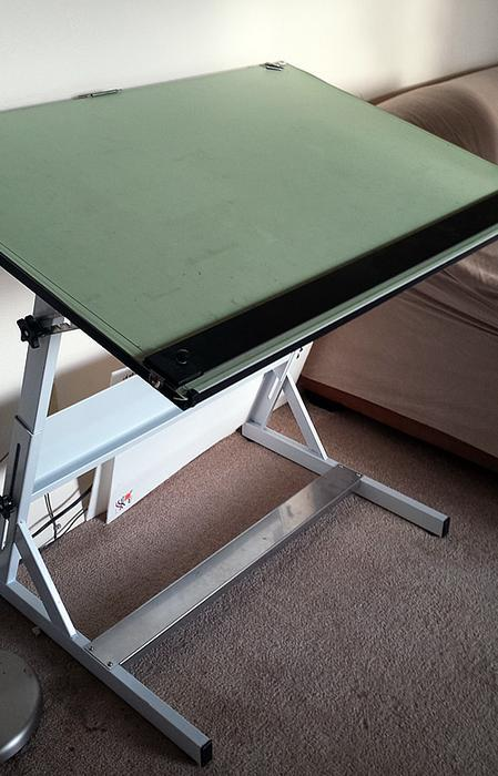 - $199 · Drafting Table With Parallel Bar Victoria City, Victoria