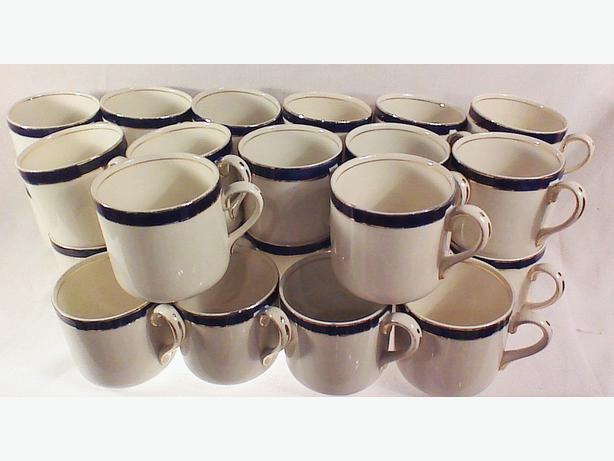 Grindley England coffee cups