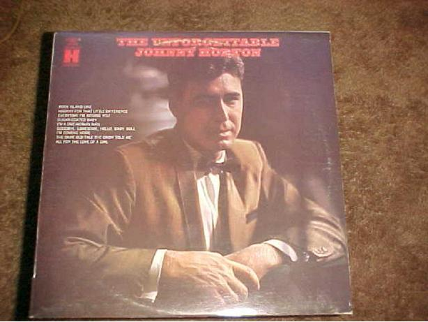 JOHNNY HORTON UNFORGETTABLE VINYL LP