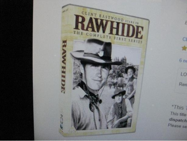 WANTED RAWHIDE VHS OR DVDS