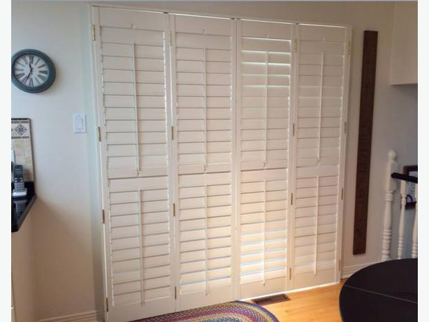 California Shutters For Patio Doors Nepean Ottawa