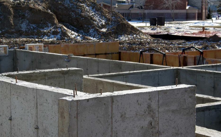 Ct construction concrete ltd north regina regina for Poured wall foundation