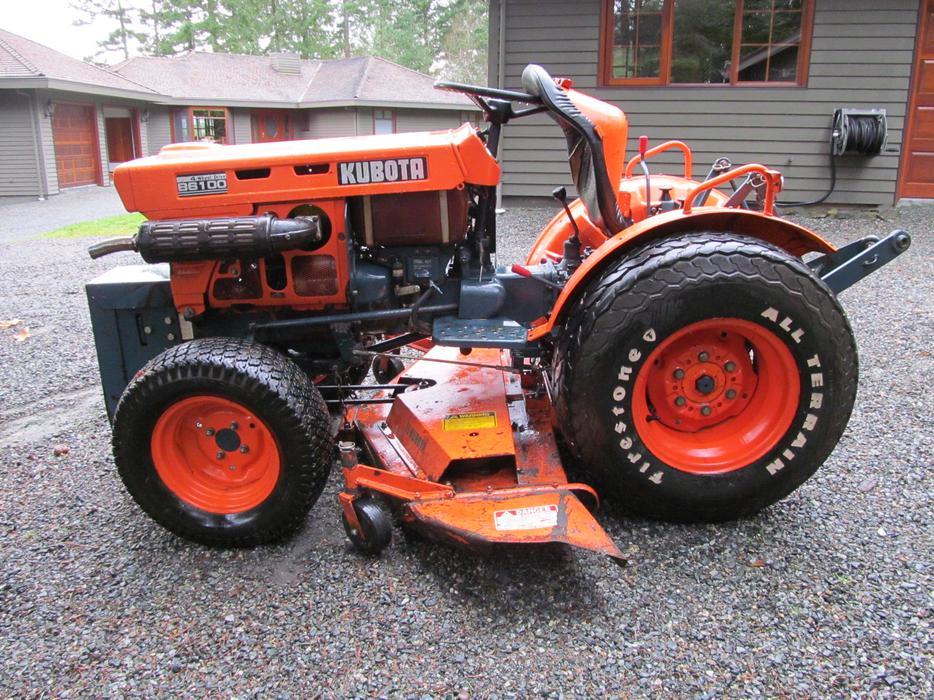 Kabota Tractor  Island Tractor Duncan