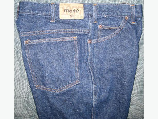 Mark's blue jeans