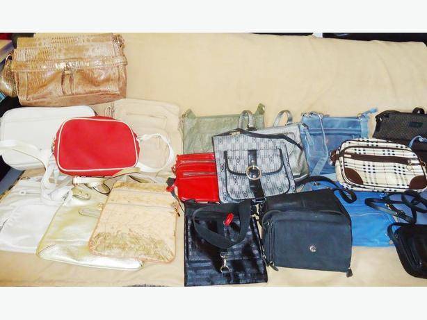 30 Various Cross Body Purses / Designer Bags - NEW
