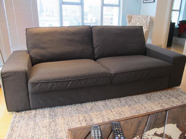 Ikea Kivik Sofa   Dansbo Dark Grey