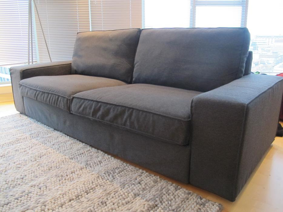 ikea kivik sofa dansbo dark grey victoria city victoria mobile. Black Bedroom Furniture Sets. Home Design Ideas