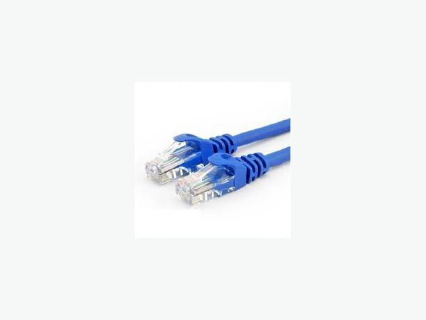 10 Pack of Cat 5e patch cables 4 foot length