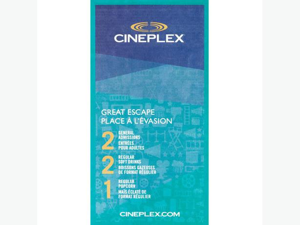 About Cineplex. At ,Cineplex has more and more discounts & special offer! coolnupog.tk for you to collect all the coupons on the Cineplex website!