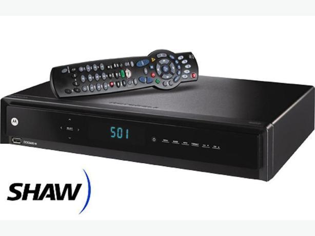 Shaw HDTV 500GB PVR